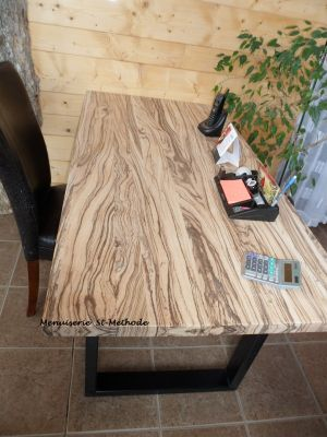 table bois zebrawood
