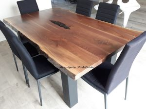 table noyer naturel-4