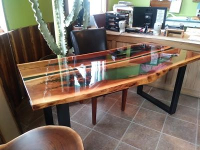 table riviere noyer