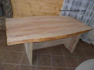 table en merisier naturel--060