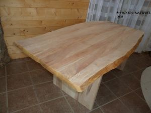 table en merisier naturel-060- 1
