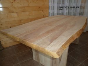 table en merisier naturel-060- 2