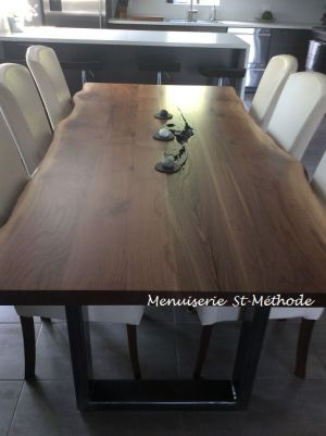 table en noyer naturel-12