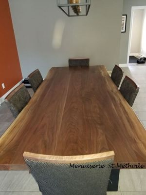 table en noyer noir live edge-26