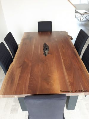 table noyer naturel-7